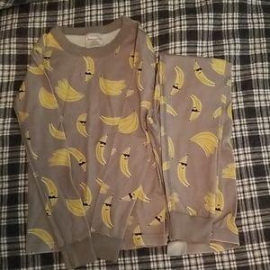 Hanna Andersson banana pajamas